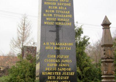 Zselickisfalud világháborús emlékmű 2013.03.31. küldő-kalyhas (4)
